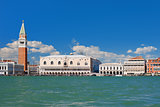 View on Venice over the Grand Canal