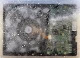 frozen hard disk