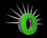 prickles letter o