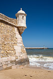 Lagos Fort and Harbour, Algarve, Portugal