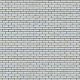 Seamless Texture of White Brick Wall.