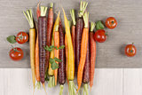Rainbow Carrots