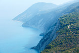 South cape of Lefkas island (Greece)