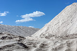 Commercial production of salt