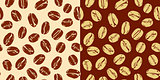 Vector. Seamless coffee background