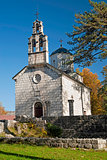 church in cetinje montenegro