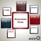 vector business plan template