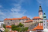 view of Krumlov