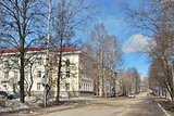 Beautiful street in Syktyvkar