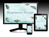 Responsive design, scalable websites