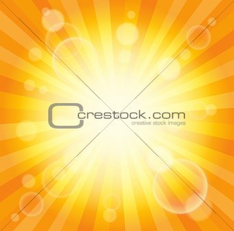 Abstract image with sunlight rays 6