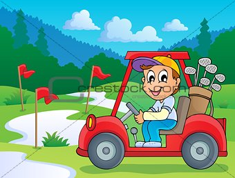 Image with golf theme 5