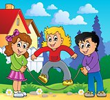 Kids play theme image 2