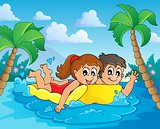 Summer water activity theme 4