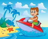 Water sport theme image 4