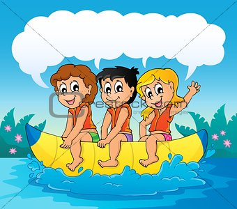 Water sport theme image 7
