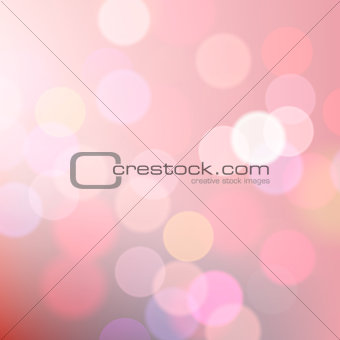 Abstract blurred pink background, vector Eps10 image.