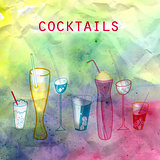 bright tasty cocktails