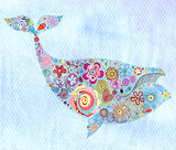 ornamental whale