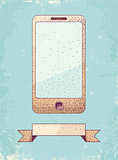 Illustration of phone