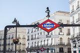 Metropolitain sign