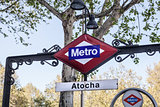 Metropolitain sign