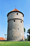 Tallinn, Estonia. Medieval tower Kiek-in-de-Kok