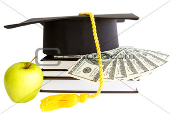 Money and books for school