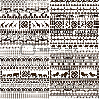 African background set
