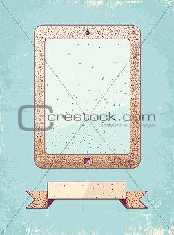 Illustration of tablet