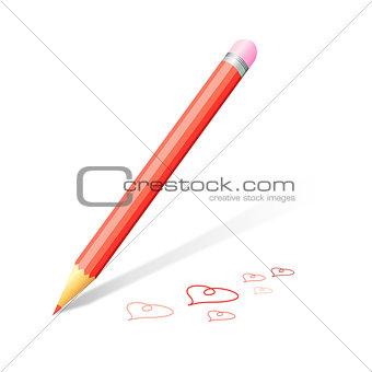 beautiful pencil