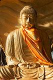 buddha statue in yangon myanmar