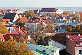 View to old Tallinn, Estonia.