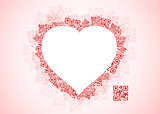 QR love message