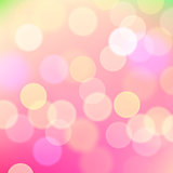 Abstract pink background of holiday lights, vector Eps10 image.