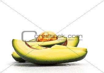 fresh avokado slices