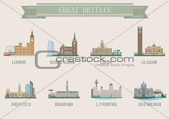 City symbol. UK