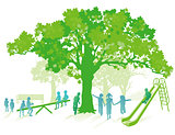 green playground