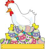 Chicken Easter Eggs