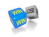 win and lose dice