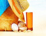 Summertime holidays background