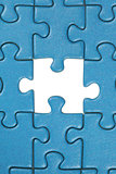 The last missing piece in a jigsaw puzzle