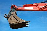 Bucket of an excavator