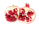 Fruit composition of pomegranate