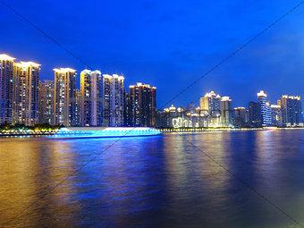 Cityscape in Guangzhou China