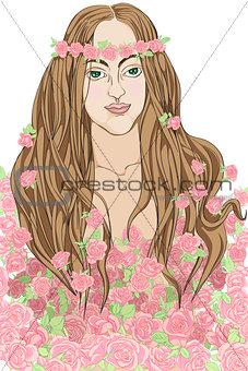 roses fairy
