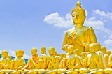 Golden Buddha at Buddha Memorial park