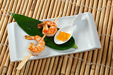 Japanese skewered  Jumbo Shrimp