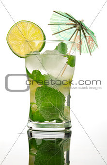 Mojito cocktail.