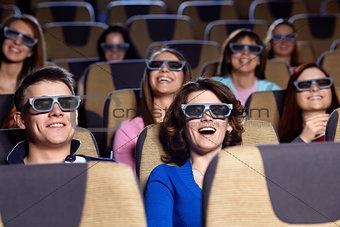 At the cinema